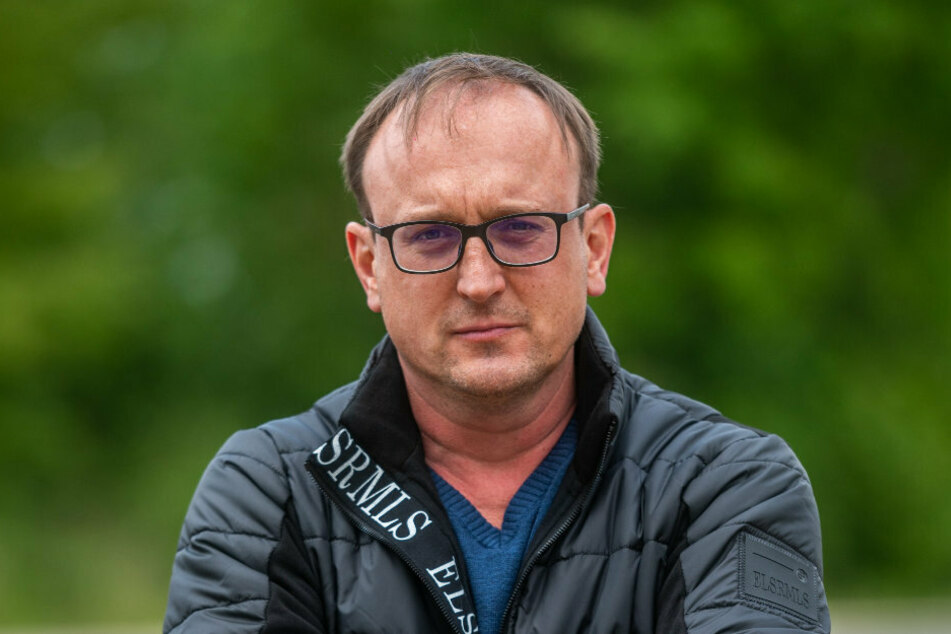 Jörg Vieweg (49, SPD) hat einen Antrag für den Stadtrat geschrieben.