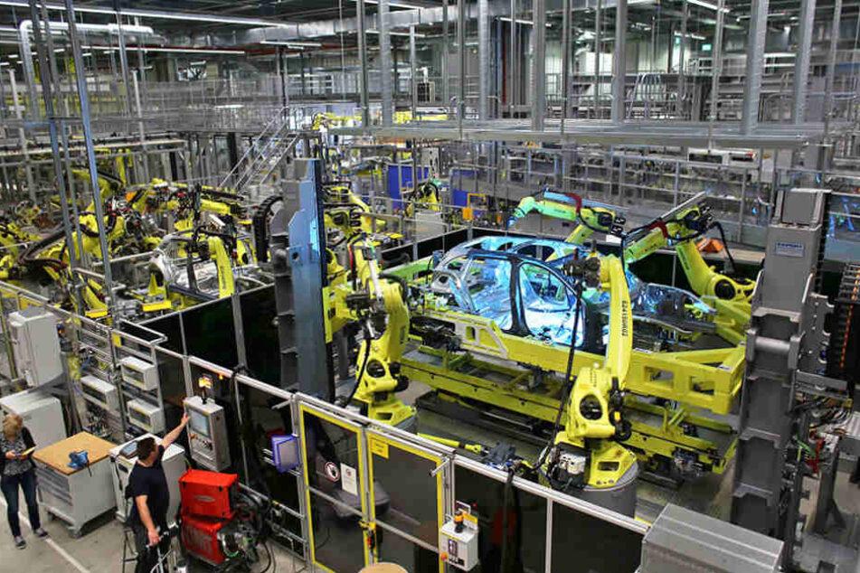 Die Produktion des neuen Porsche Panamera wird in Leipzig hochgefahren.