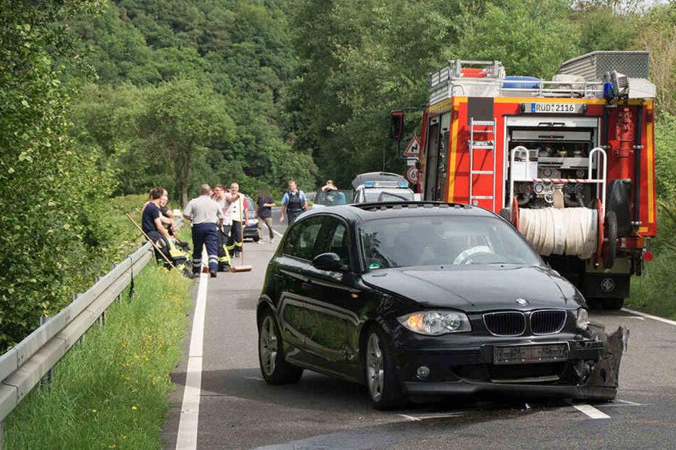 Der 20-jährige Fahrer blieb unverletzt.