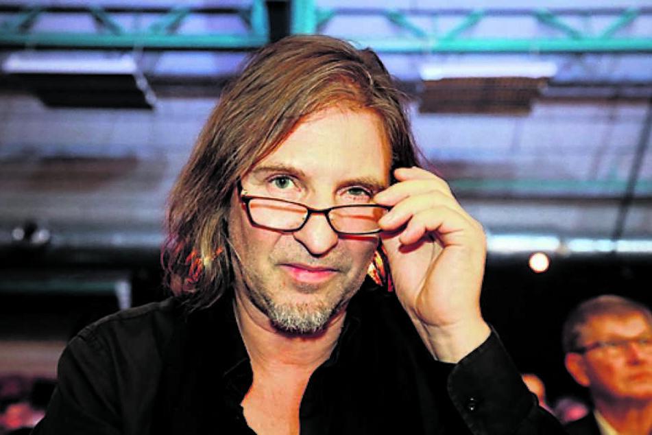 """Dirk Zöllner (56) liest auf Wackerbarth aus seinem Buch """"Affenzahn""""."""