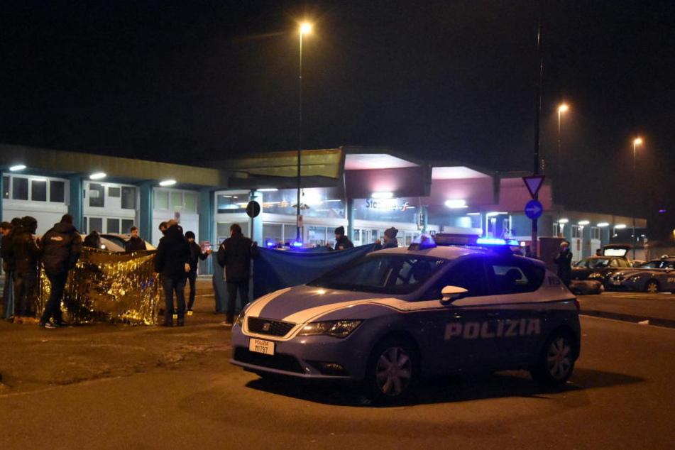 Nach ersten Informationen ging der mit Haftbefehl europaweit gesuchte Tunesier Anis Amri der Polizei bei einer normalen Kontrolle um 3 Uhr in der Nacht zu Freitag ins Netz.
