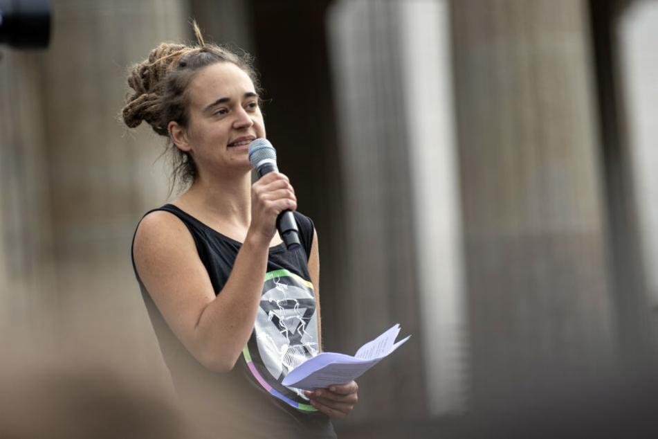 Carola Rackete, Kapitänin der Sea Watch 3, soll an der Siegessäule eine Rede halten.