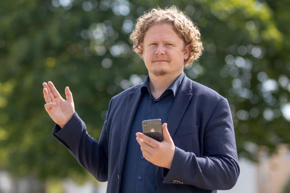 Respekt für den OB-Kandidaten: Lars Fassmann (41) überlegt nun, selbst anzutreten.