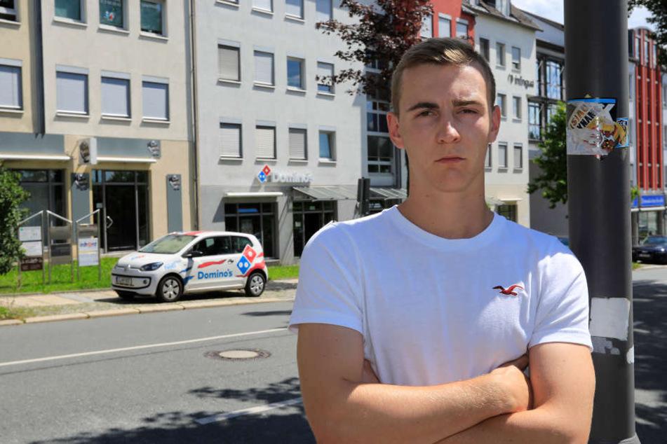"""Patrick V. (19) machte als Fahrer bei """"Domino's"""" keine guten Erfahrungen."""