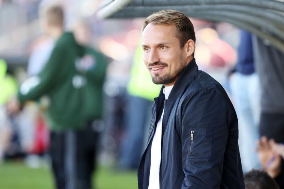 FSV-Sportdirektor Toni Wachsmuth kann mit dem bisherigen Saisonverlauf zufrieden sein.