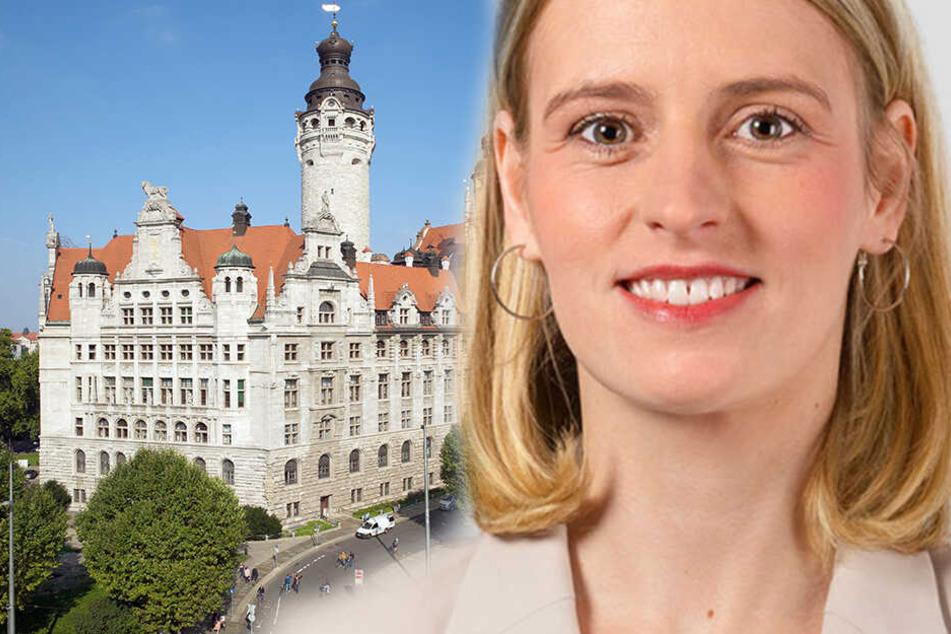 Franziska Riekewald möchte Leipzigs Oberbürgermeisterin werden
