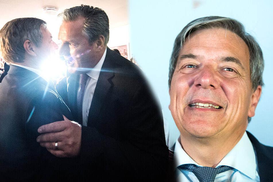 OB-Wahl in Wiesbaden: Klarer Sieg für SPD-Kandidat