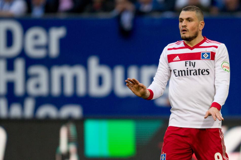 Kyriakos Papadopoulos hält sich ab sofort bei der Regionalligamannschaft des HSV fit. (Archivbild)