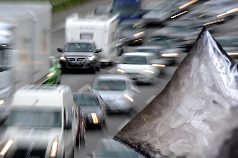 Chrystal Meth in verkaufsfertigen Portionen fand die Polizei bei dem Autofahrer (Symbolbild).