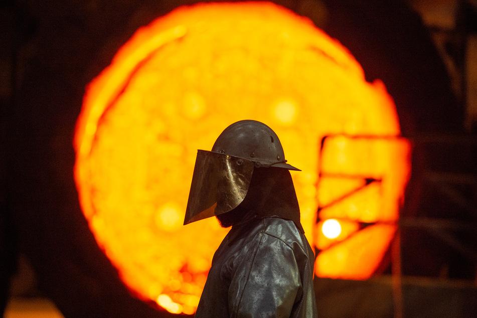 Stahlproduktion in Deutschland bricht drastisch ein