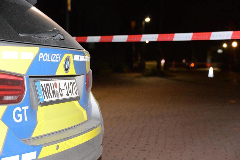 Eine junge Polizisten soll hier in Gütersloh auf einen bewaffneten Mann geschossen haben.