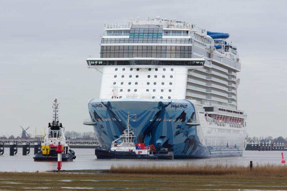 Ein Besatzungsmitglied der Norwegian Cruise Line ging aus unbekannten Gründen über Bord. (Archivbild)