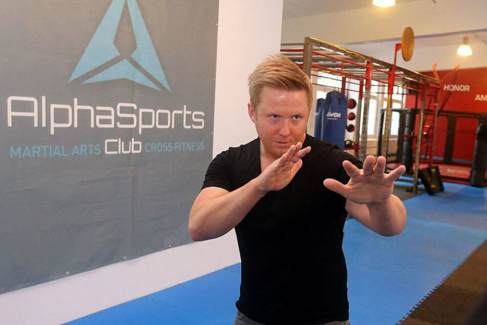 Christian Hjort bietet in seinem Sportclub auch Selbstverteidigungskurse an.