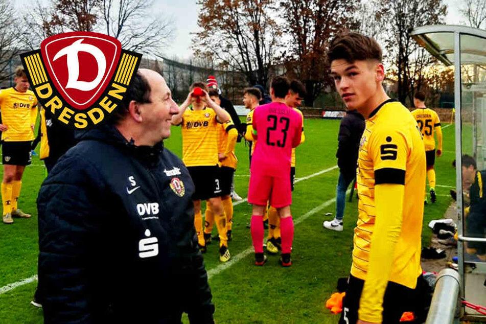 Dynamo-Sensation! U19 schlägt zahnlose Wölfe, Trainer Weiße kassiert Rot!