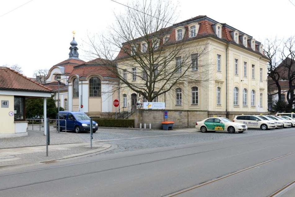 Im Krankenhaus Friedrichstadt rastete der Mann aus.