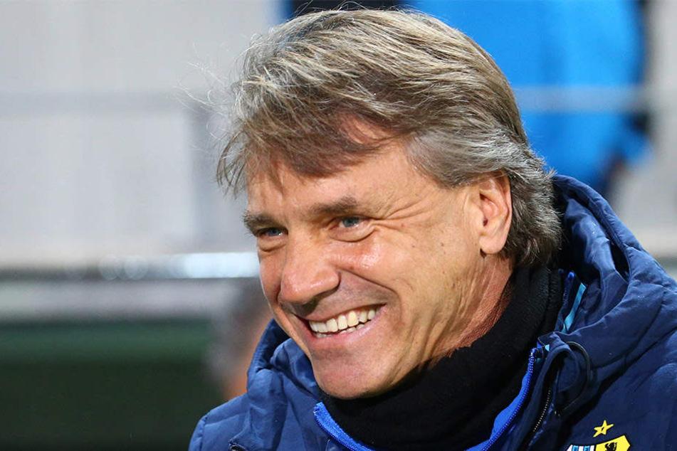 CFC-Trainer Horst Steffen freut sich auf die Herausforderung im Sachsenpokal.