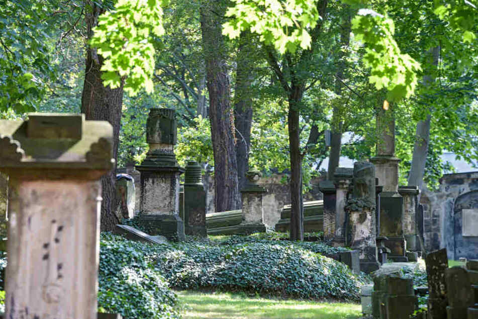 """Am """"Tag des offenen Denkmals"""" haben Interessierte die seltene Möglichkeit, den Eliasfriedhof mit seinen besonderen Grabsteinen zu besichtigen."""