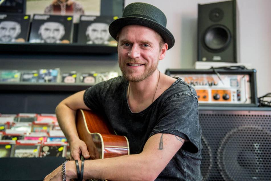 Musiker Johannes Oerding fordert Fans zur Wahl gegen Rechts auf