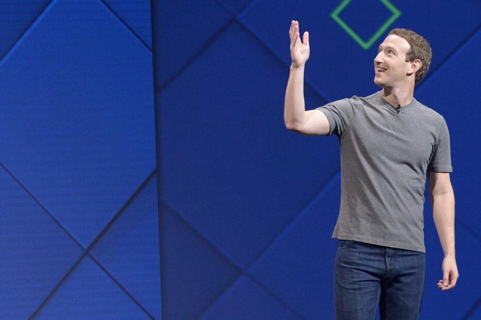 Gründer und Chef Mark Zuckerberg (35). (Archivbild)