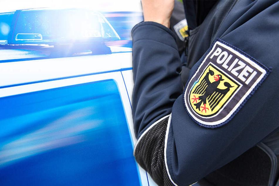 Polizeieinsatz am Bahnhof: Zwei Beamte verletzt