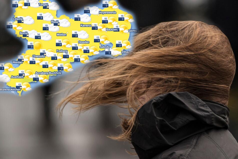 Sturm, Blitz und Donner: Schmuddelwetter-Alarm in Sachsen!