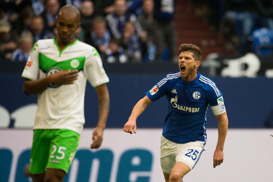 Tut er es nochmal? Klaas-Jan Huntelaar (37) könnte schon bald wieder bei Schalke 04 spielen.