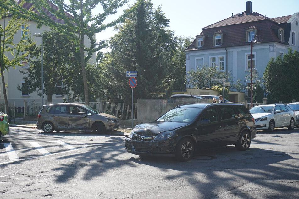 Auf der Kreuzung Mättigstraße Ecke Thomas-Mann-Straße krachte es am Montagvormittag.