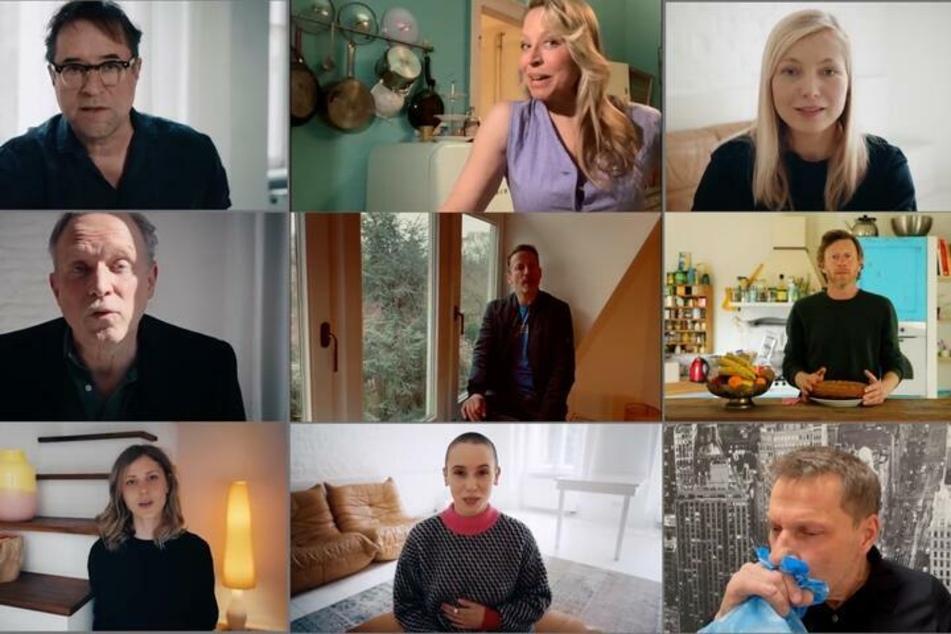 Über 50 Schauspieler und Schauspielerinnen kritisierten in der Videoaktion #allesdichtmachen die Corona-Politik.