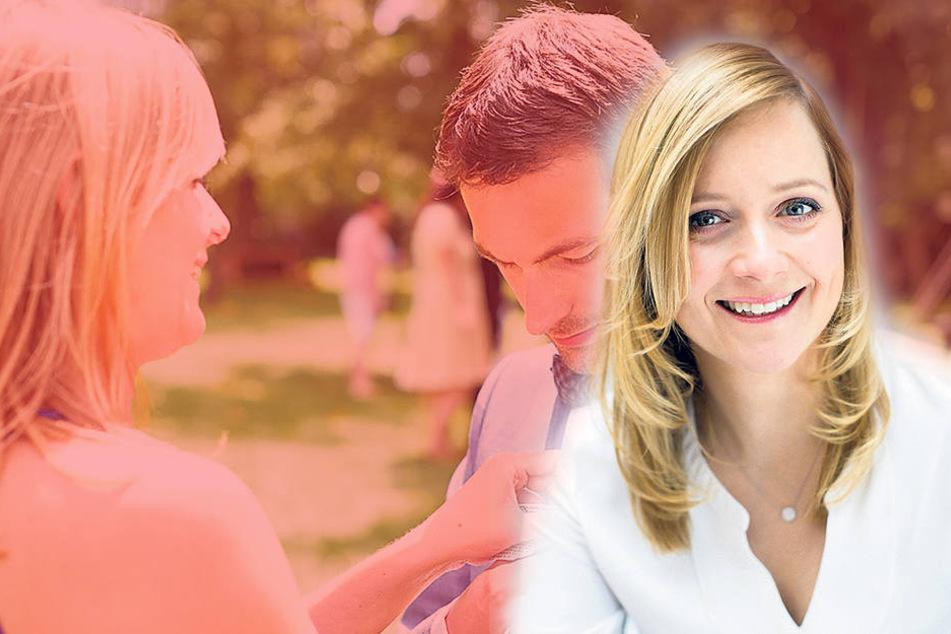 Hochzeitsplanerin Anikó Arzner (35) aus Dresden ist Gastgeberin des 4. Deutschen Hochzeitskongresses.