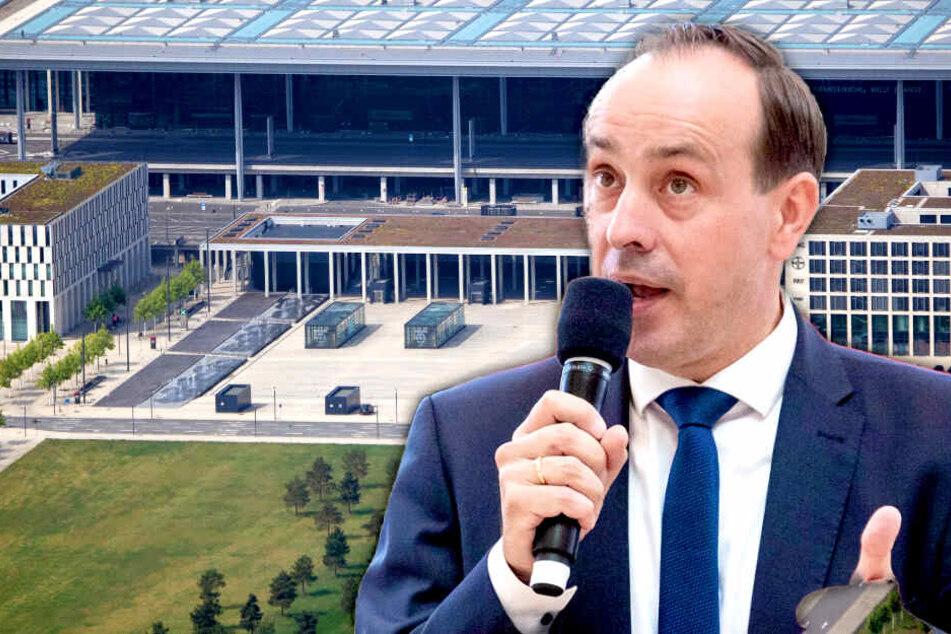 Flughafen BER: CDU-Chef spricht schon von Baustopp und Abriss