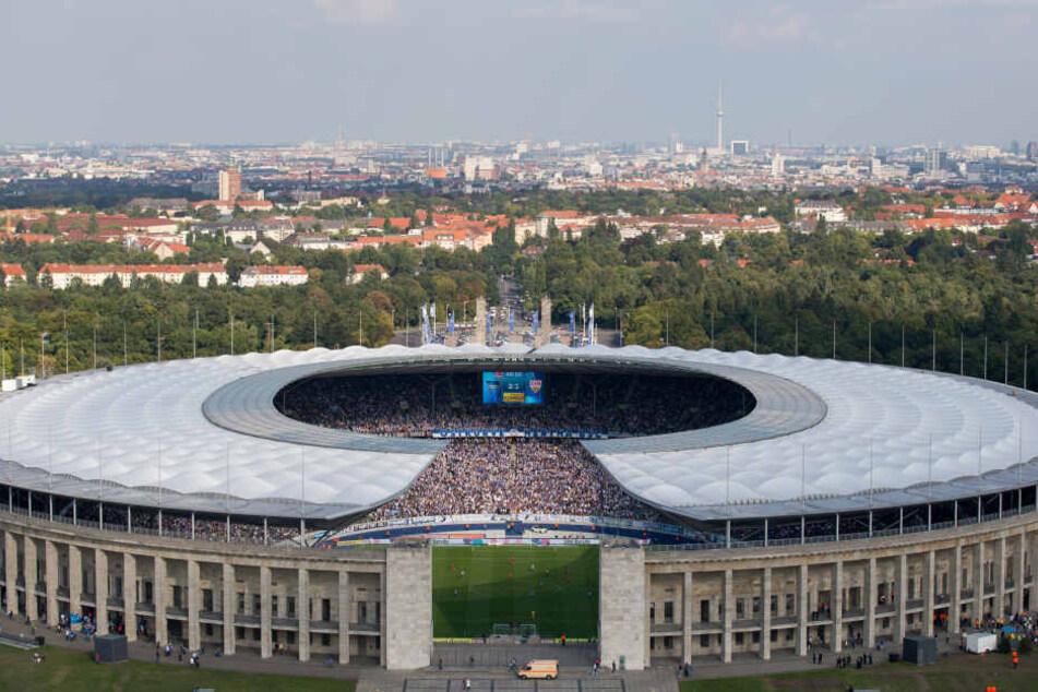 Das Berliner Olympiastadion ist seit 1963 die Spielstätte von Hertha BSC.