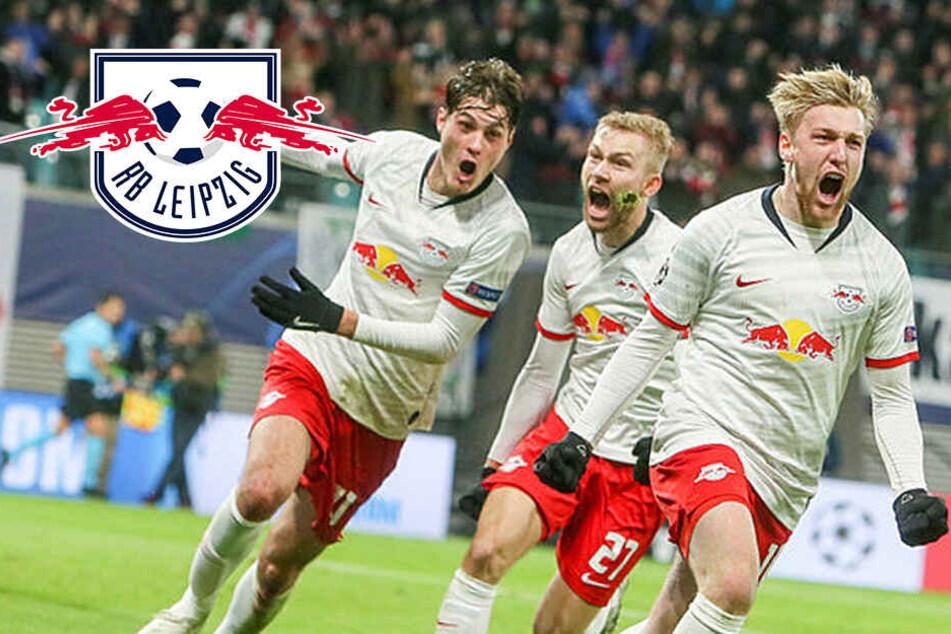 Champions League: RB Leipzig im Achtelfinale gegen Tottenham!