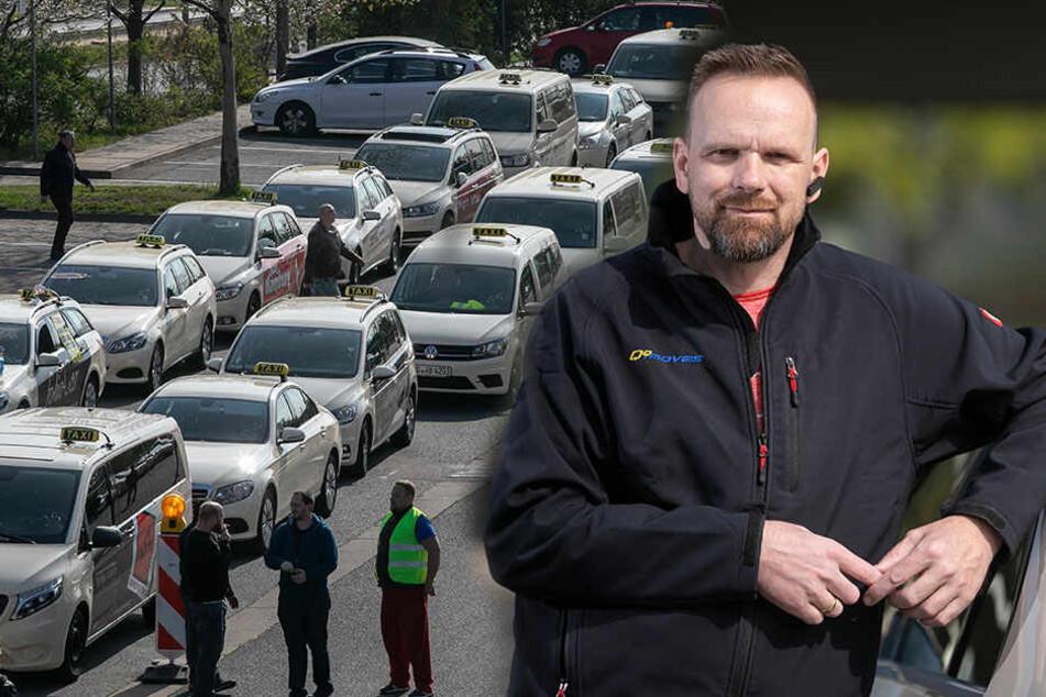 Taxi-Fahrer macht klar: Es geht um unsere Arbeitsplätze