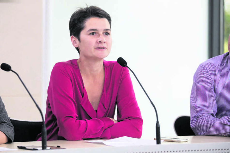 Gegen die Groko: Daniela Klobe (37).