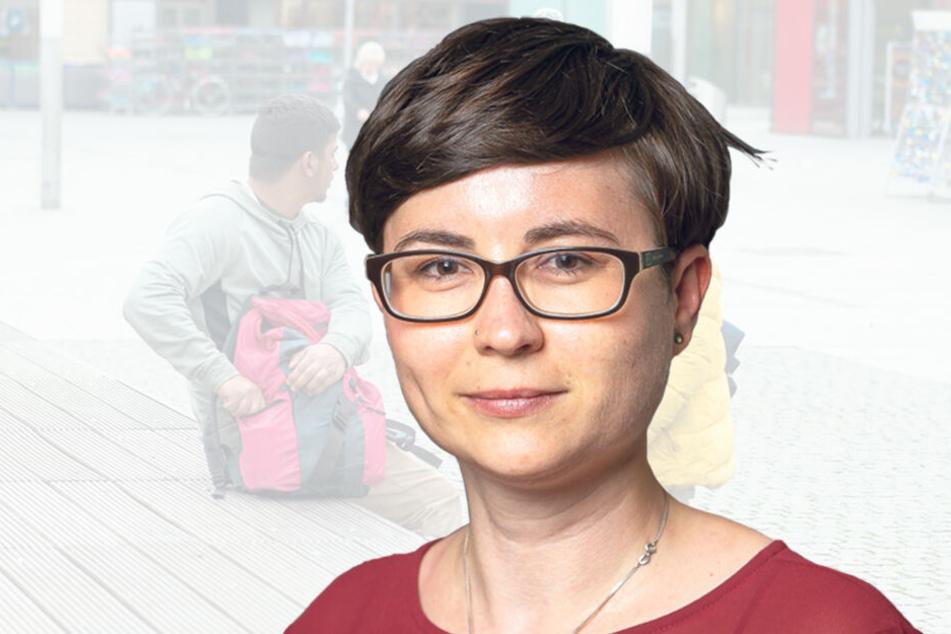 Tina Siebeneicher (35), jugendpolitische Sprecherin der Grünen-Fraktion im Stadtrat.