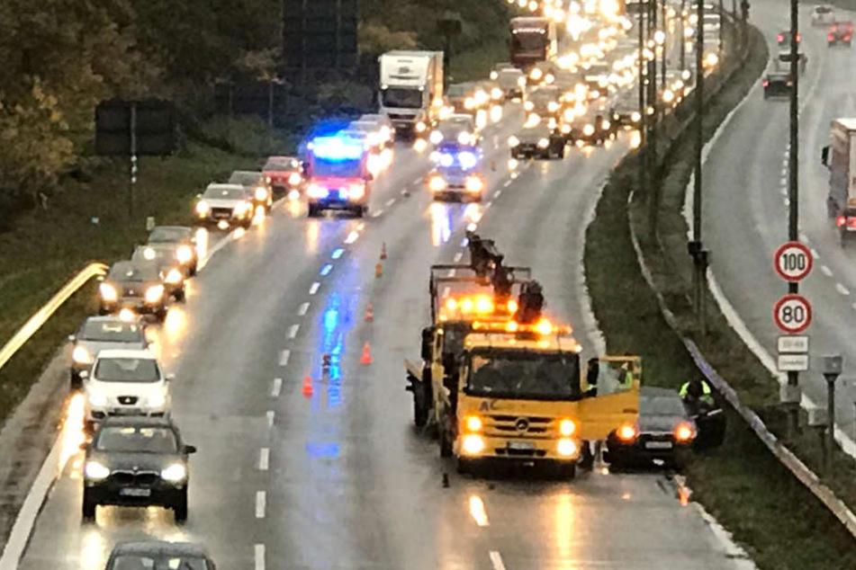 Unfall auf OWD sorgt für Probleme im Berufsverkehr