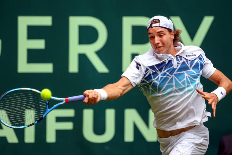 Tennisprofi Struff muss sich bei Gerry Weber Open geschlagen geben