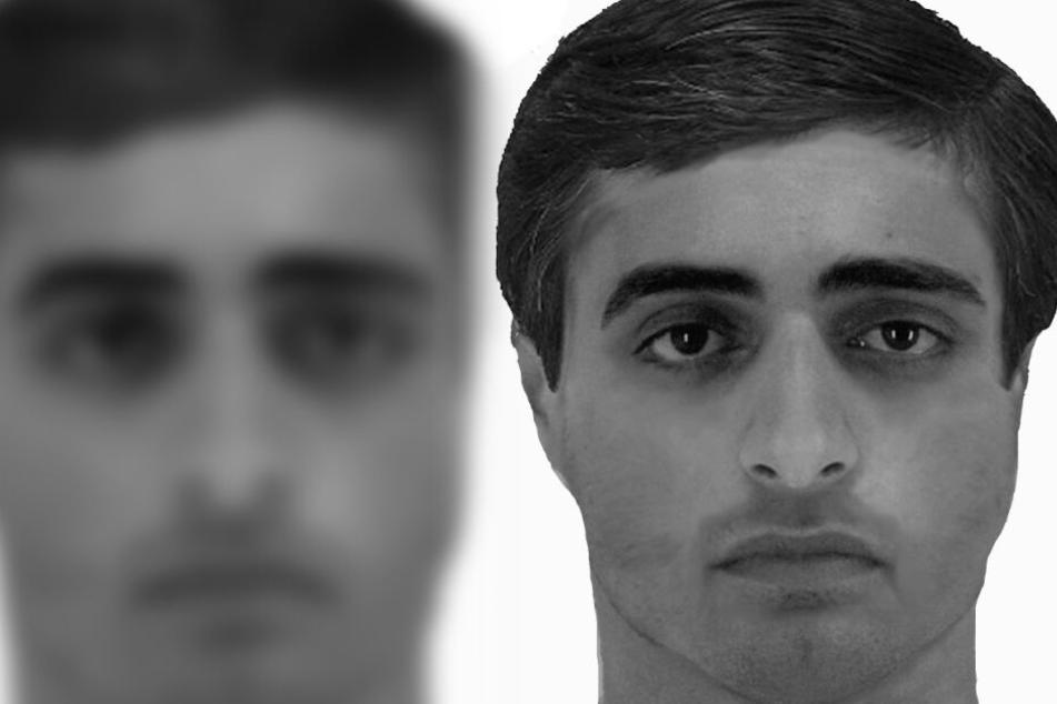 Polizei sucht diesen Mann, der bei Frau einbrach und ihr den Mund zuklebte