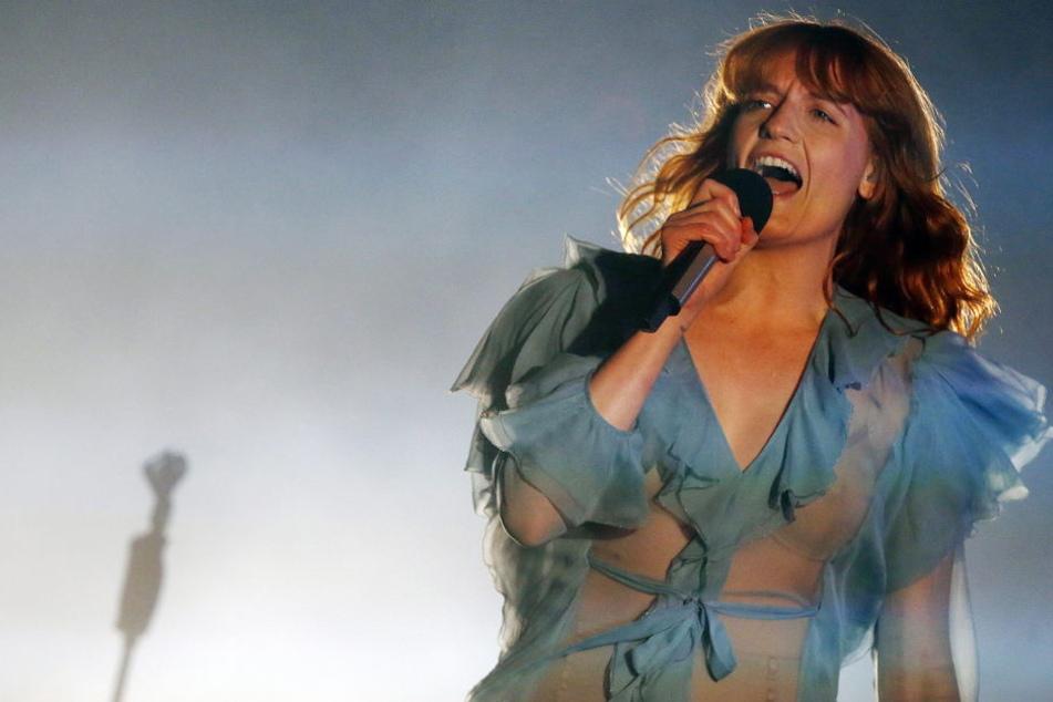 In Deutschland in diesem Jahr nur auf dem Melt-Festival: Florence Welch von Florence and the Machine.