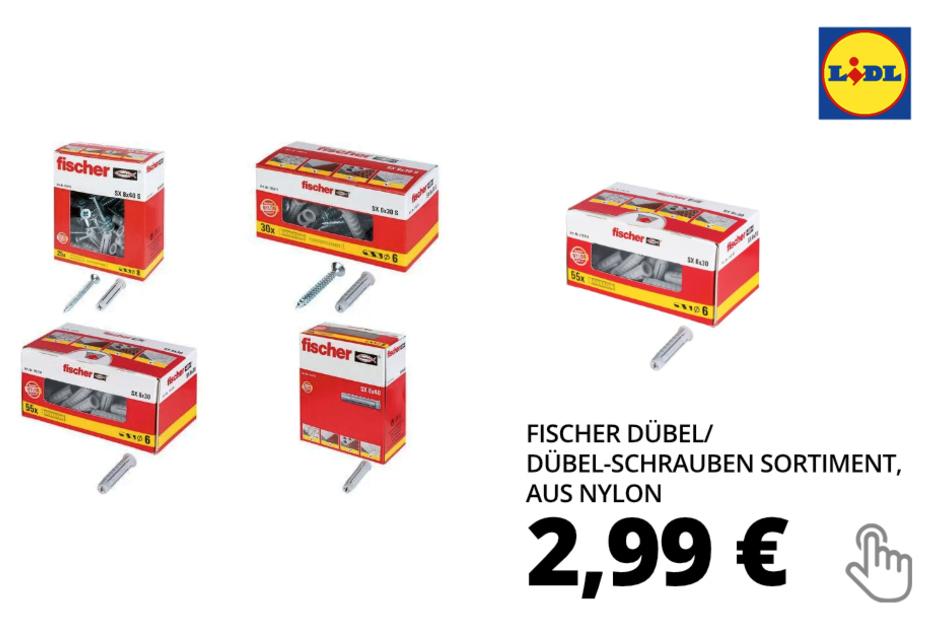 Dübel/ Dübel-Schrauben