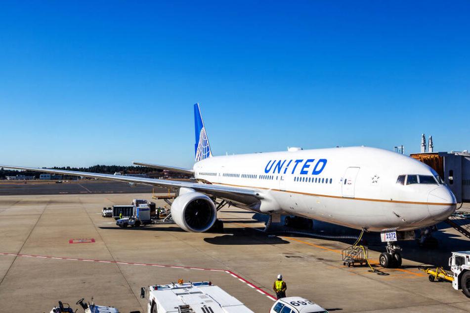 Der United-Flieger wurde Albuquerque gewartet (Symbolbild).