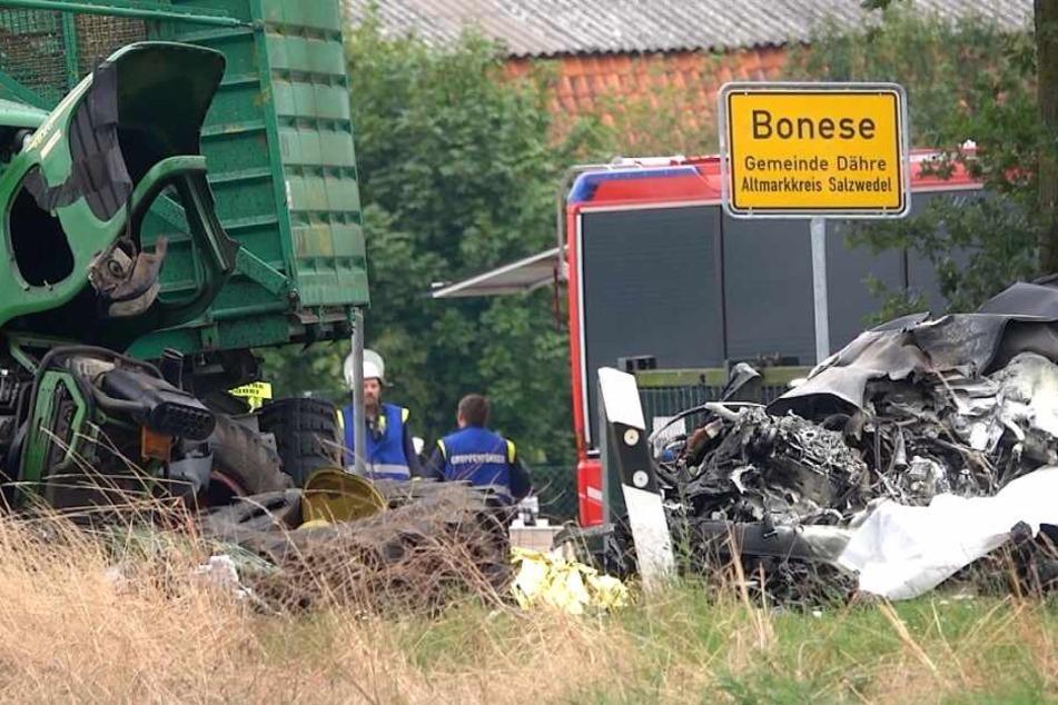 Die Unfallursache ist derzeit noch völlig unklar.