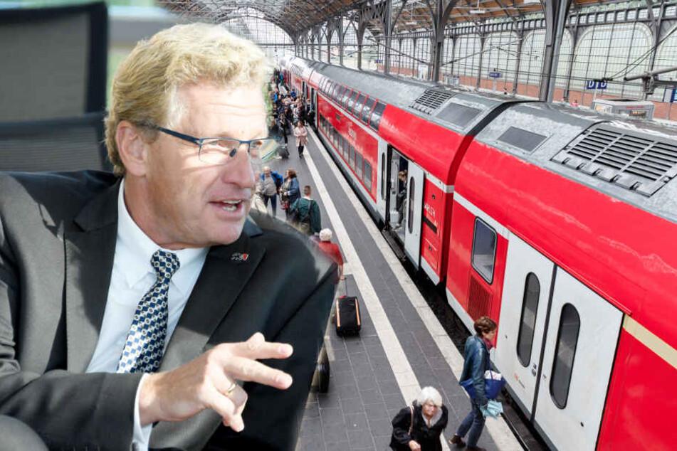 Gestrichene Züge: Verkehrsminister droht der Bahn