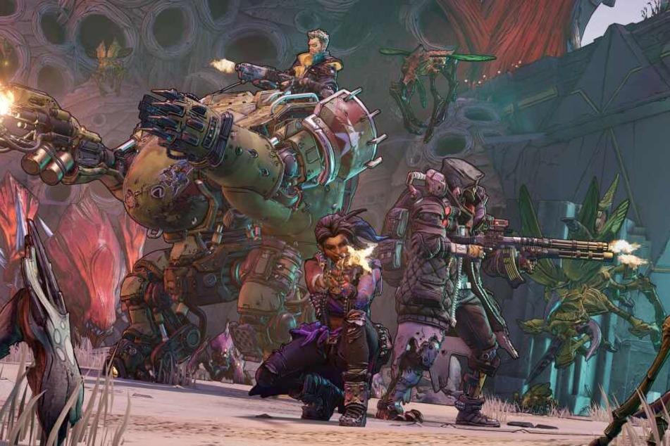 Ihr setzt dabei erneut auf ein schier unendliches Arsenal irrwitziger Waffen sowie zahlreiche spektakuläre Fähigkeiten.