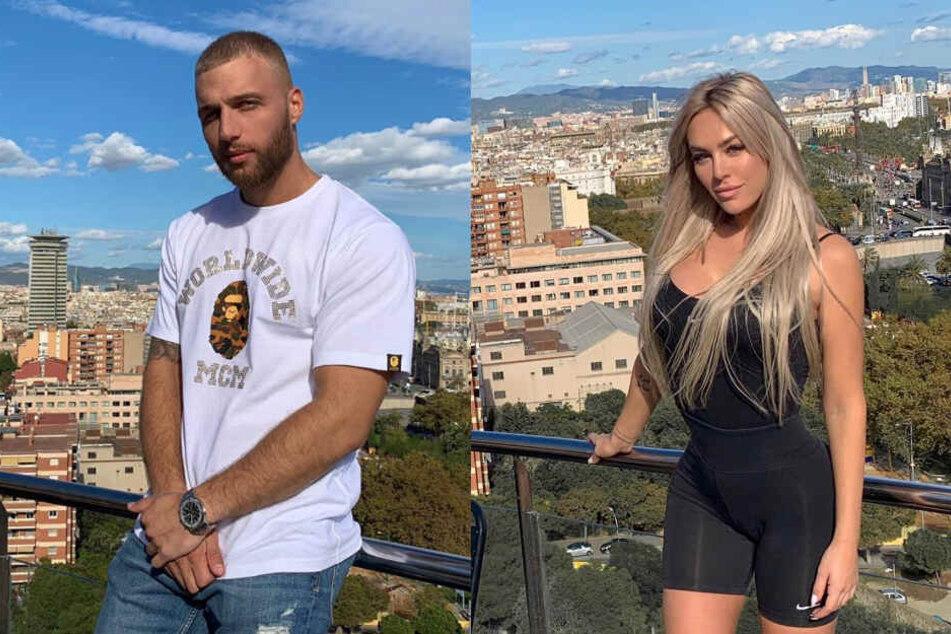 Filip und Samantha trafen sich in Barcelona.