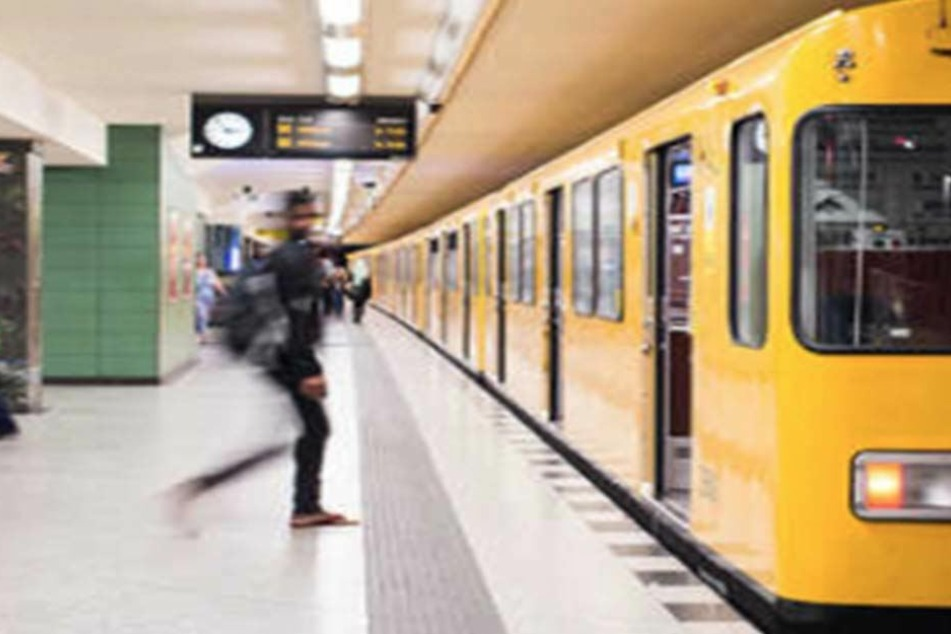 Am U-Bahnhof Gesundbrunnen wurde ein unbeteiligter bei einem Streit ins Gleisbett geschubst. (Symbolbild)