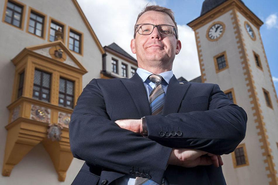 Der Freiberger OB Sven Krüger (44) ist aus der SPD ausgetreten.