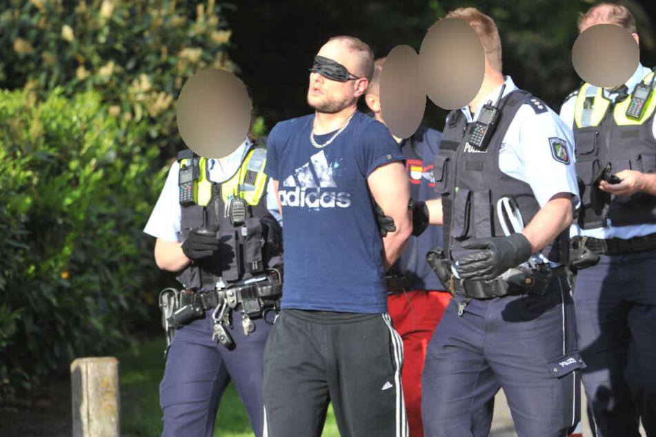 SEK-Einsatz in Köln: Bewaffneter Mann festgenommen