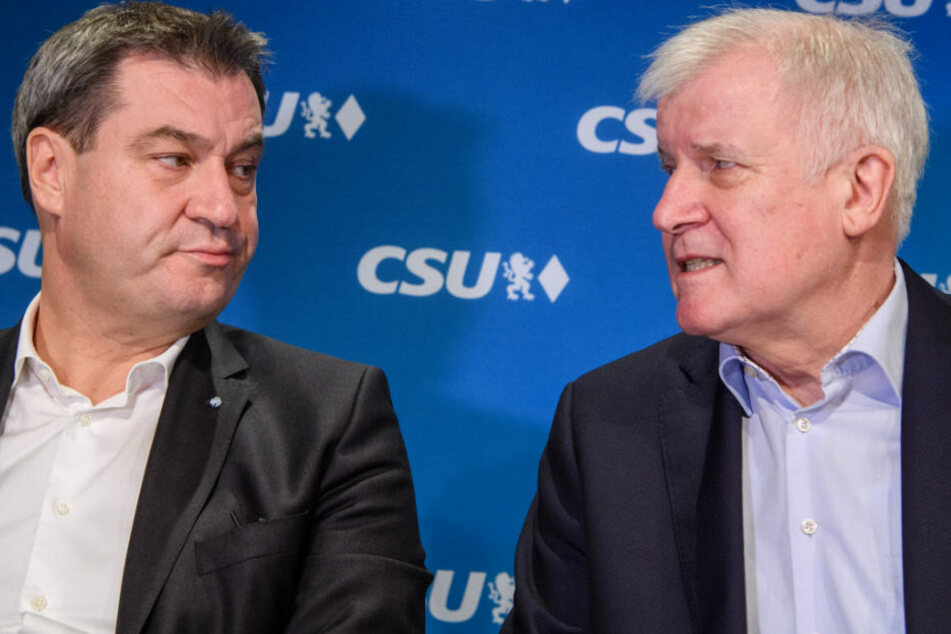 Markus Söder (l.) und Horst Seehofer (r.) haben ein schwieriges Verhältnis. (Archivbild)