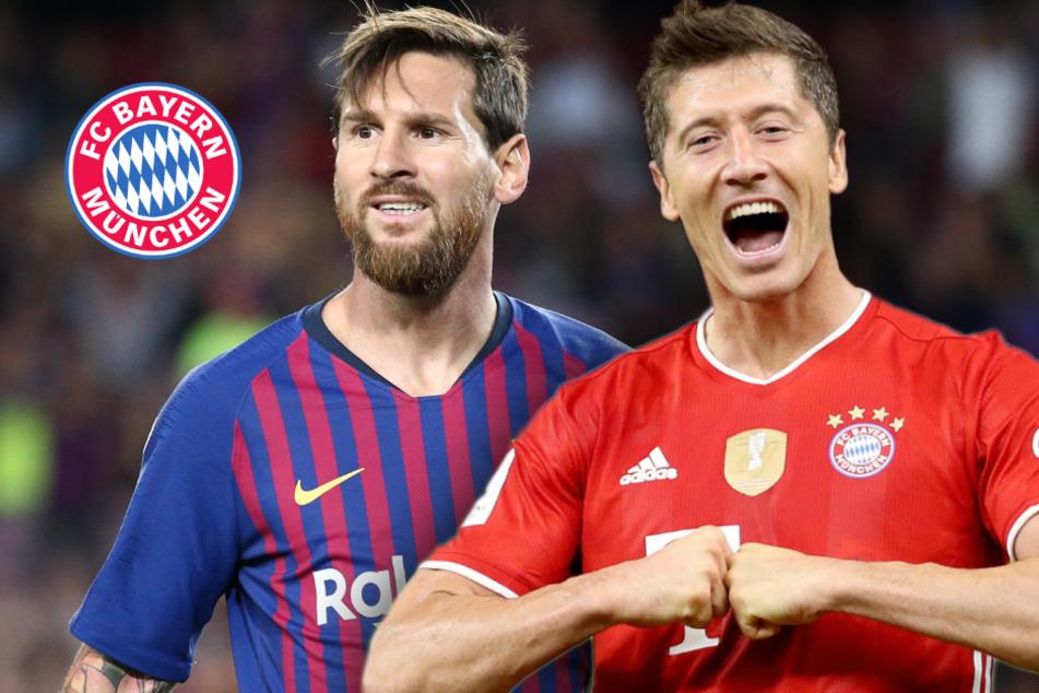 FC Bayern fordert Barca: Robert Lewandowski und Lionel Messi bei Kracher im Fokus